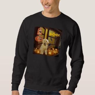Camiseta unisex de Halloween del golden retriever Jersey
