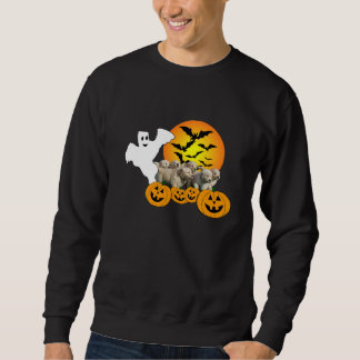 Camiseta unisex de Halloween del golden retriever Sudaderas Encapuchadas