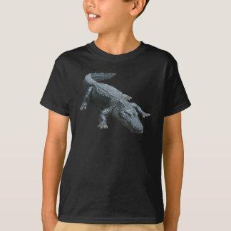 Camiseta unisex de los niños del cocodrilo