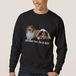 Camiseta unisex de Sheltie Sudadera