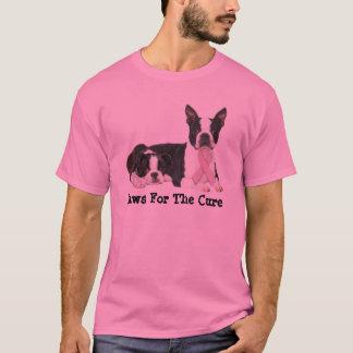 Camiseta unisex del cáncer de pecho de Boston