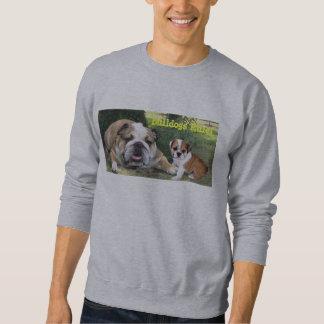 Camiseta unisex del dogo sudadera con capucha