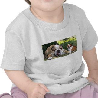 Camiseta unisex del niño del dogo