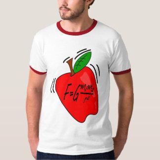 Camiseta universal de la gravitación playeras