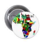 Camiseta urbana africana #1 y etc pin redondo 5 cm