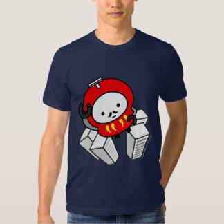 ¡Camiseta - VAYA! ¡Robot de Daruma!! Playeras