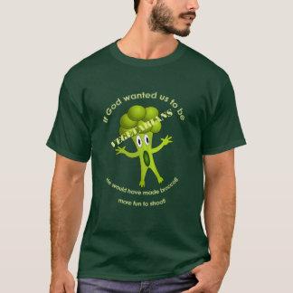 Camiseta vegetariana divertida de la cita