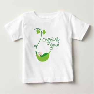 Camiseta vegetariana orgánica del bebé