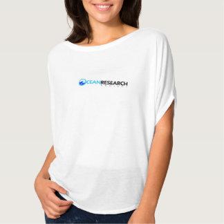 Camiseta ventosa del proyecto de investigación del camisas