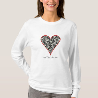 camiseta verdadera del xoxo del amor del xoxo