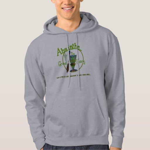 Camiseta verde de la hada II del ajenjo Sudadera