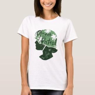 Camiseta verde de la patrulla