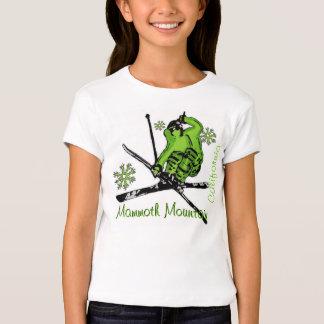 Camiseta verde de los chicas de Mammoth Mountain Camisas