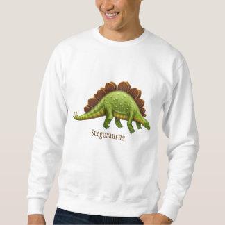 Camiseta verde del adulto del dinosaurio del