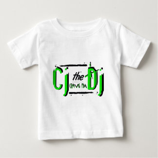 Camiseta verde del niño de CJ