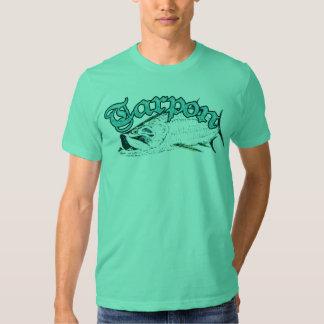 Camiseta verde del tarpón remeras