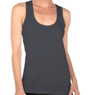 Camiseta versátil bisexual de Racerback de las m