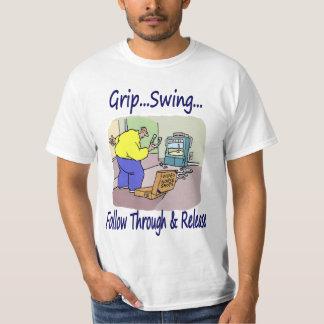 Camiseta video del valor de las herraduras playeras