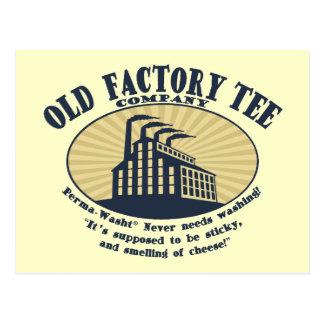 Camiseta vieja Co. de la fábrica Postal
