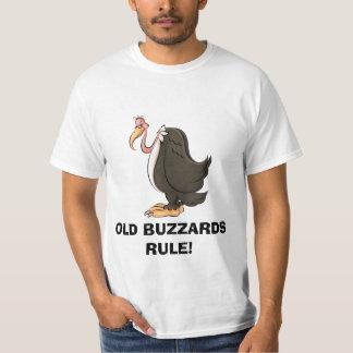 Camiseta vieja de la REGLA de los halcones