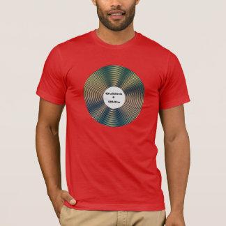Camiseta vieja del amante de la música del eje de