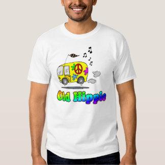 Camiseta vieja del autobús del Hippie Camisas