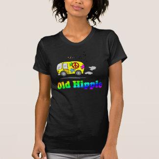 Camiseta vieja del autobús del Hippie Playeras
