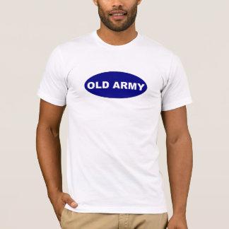 Camiseta vieja del ejército
