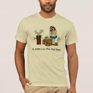 Camiseta vieja del equipo de radio-aficionado de
