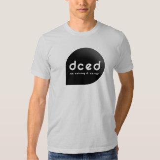 Camiseta vieja del logotipo de DCED Camisas