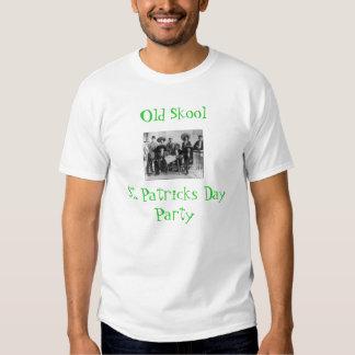 Camiseta vieja del St. Pat de Skool Playera