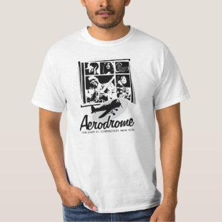 Camiseta Vintage-Retra del aeródromo