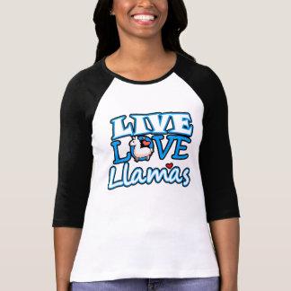 Camiseta viva de las llamas del amor poleras