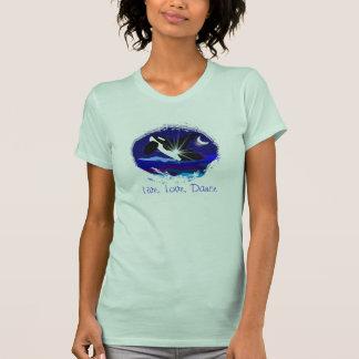 Camiseta viva de las señoras de la infracción de l