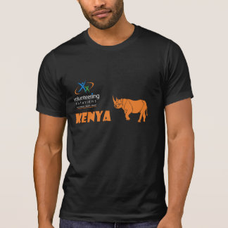 Camiseta voluntaria de Kenia - ofrecerse voluntari