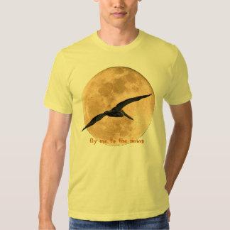 Camiseta - vuéleme a la luna poleras