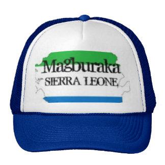 CAMISETA Y etc (magburaka) del SIERRA LEONE Gorras De Camionero