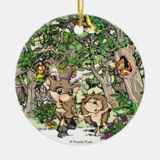 Camiseta y ornamento de Heddie Adorno De Navidad