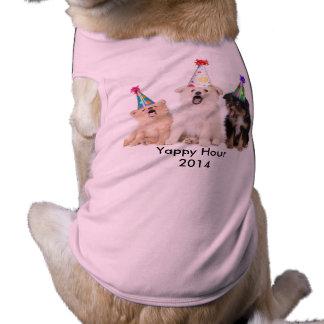Camiseta Yappy del perrito del chica de la hora