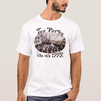 Camisetas 1773 y regalos de la fiesta del té de