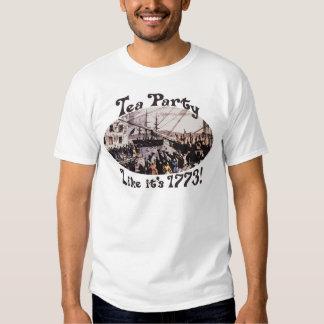 Camisetas 1773 y regalos de la fiesta del té de Bo Playera