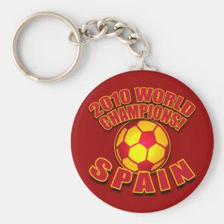 Camisetas 2010 del fútbol de los CAMPEONES del MUN Llavero Redondo Tipo Pin
