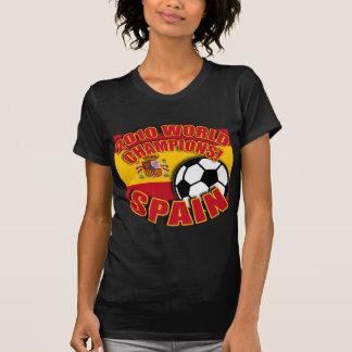 Camisetas 2010 del fútbol del CAMPEÓN del MUNDO de