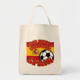 Camisetas 2010 del fútbol del CAMPEÓN del MUNDO de Bolsas