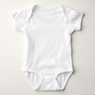 Camisetas adaptables del bebé del 100% y remera