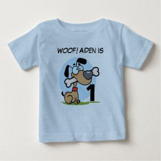 Camisetas adaptables del cumpleaños del perro de playeras