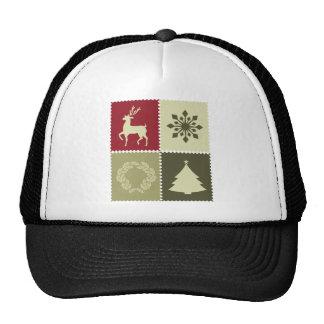Camisetas adaptables lindas de los símbolos del na gorros bordados