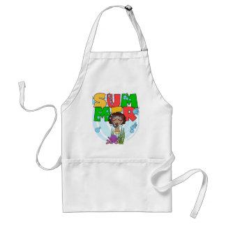 Camisetas afroamericanas y regalos del chica del V Delantal