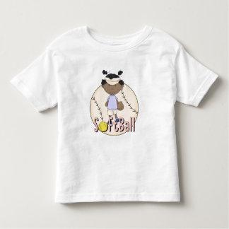 Camisetas afroamericanas y regalos del softball de playera