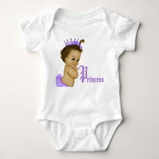 Camisetas afroamericano de la princesa púrpura